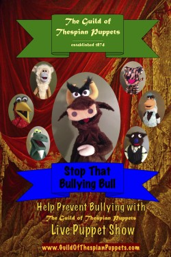 Puppet Poster Stop Bullying