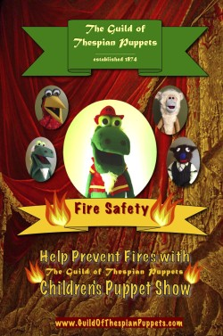 Puppet Poster Fire Safety